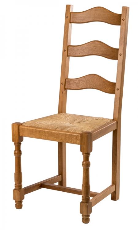 chaise rustique modèle campagne