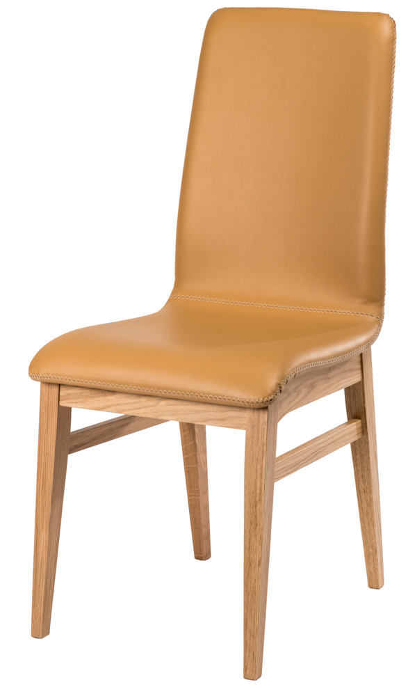 chaise design couture croisillon pi tement ch ne chaises. Black Bedroom Furniture Sets. Home Design Ideas