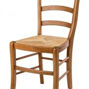 chaise rustique modèle paysanne