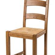 chaise rustique modèle village