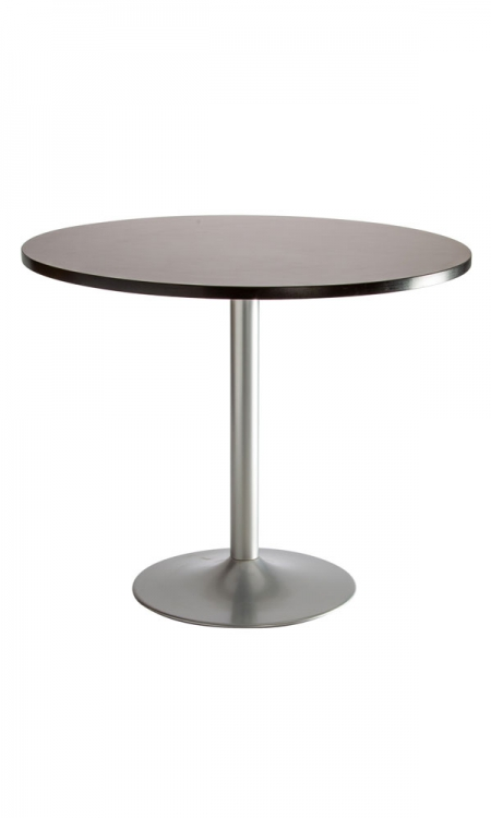 table bistrot pied central metal