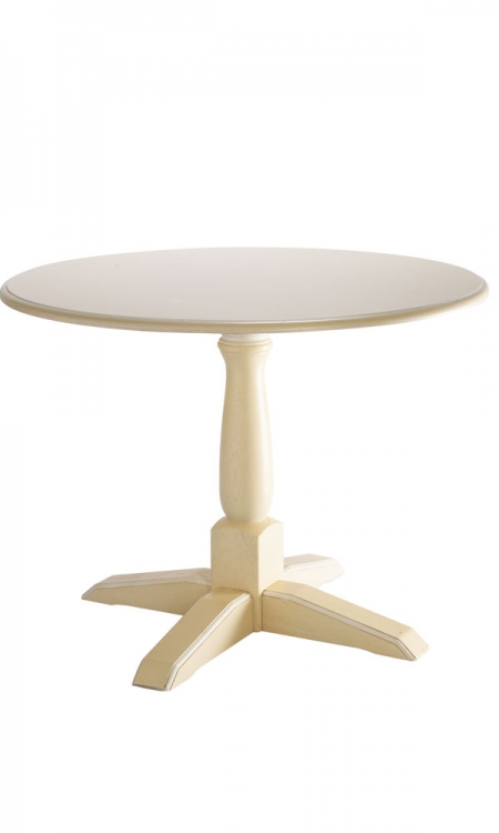 table bistrot ronde en bois
