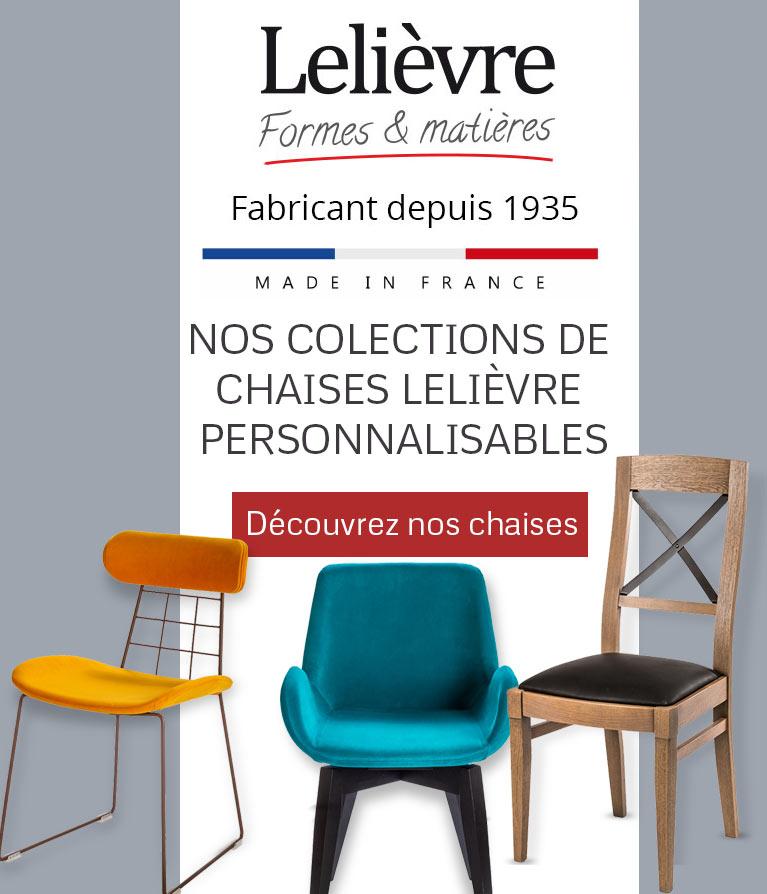 Lelièvre   Fabricant français de chaises en bois pour