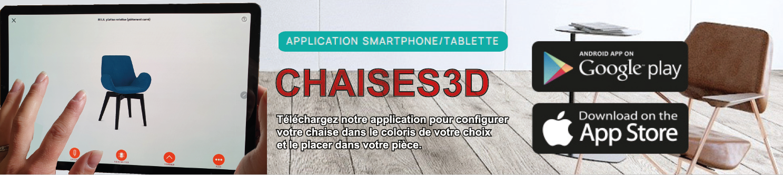 Application Chaises3D Lelièvre